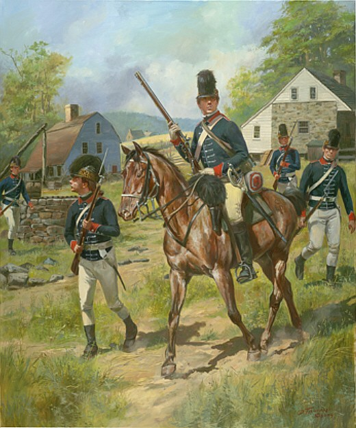 16th Queen's Light Dragoons 1777-1778
