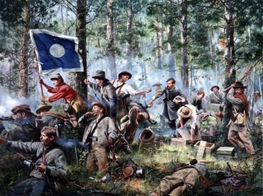 Cleburne at Chickamauga