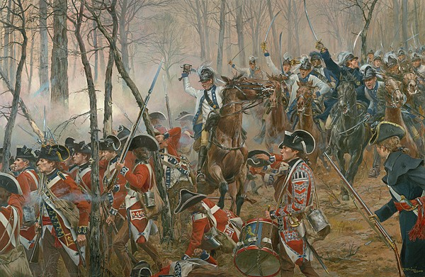 Battle of Guilford Courthouse - March 15, 1781