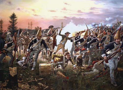 Breymann's Redoubt, Battle of Saratoga - October 7th, 1777