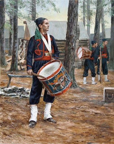Corcoran's Irish Legion Drummer 164th New York - 1864