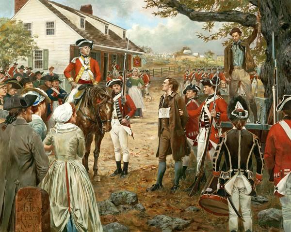 Nathan Hale - September 22, 1776