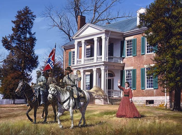 General Forrest at Carnton
