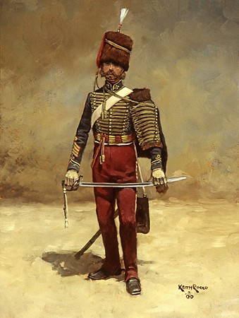 British 11th Hussar-Crimea