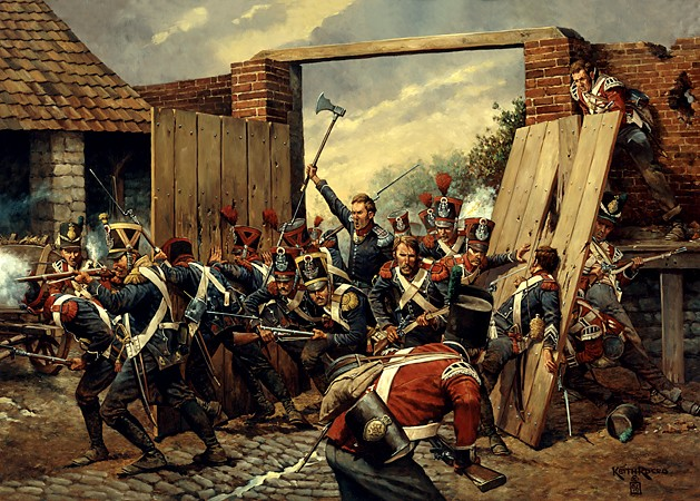 The Great Gate of Hougoumont