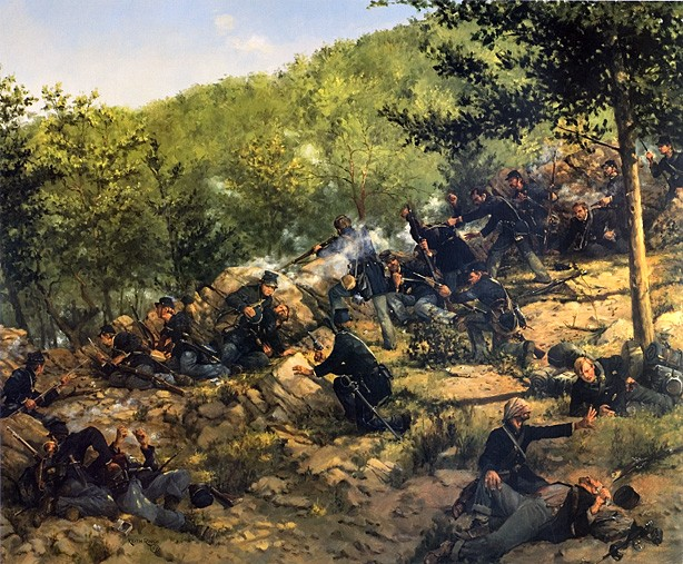 The Defense of Little Round Top