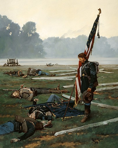The Last Stand of the Colors