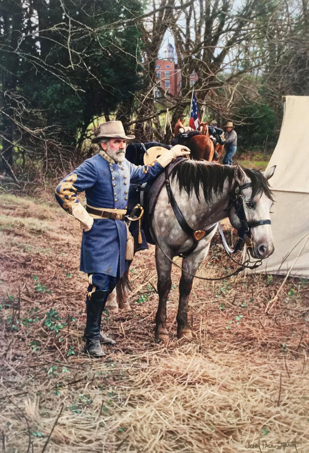 General Lee in Gettysburg