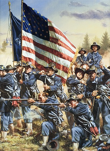 6th Wisconsin at Gettysburg