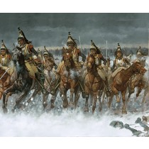 Charge of the Cuirassiers at Eylau - 1807