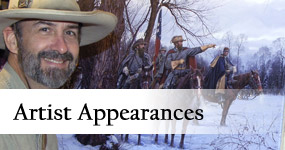 Artist Appearances at Gettysburg Frame